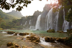 Ban Gioc - Detian waterfall Royalty Free Stock Image