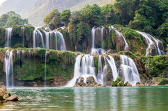 Ban Gioc Water Fall Royalty Free Stock Images