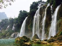 Ban Gioc Waterfall Stock Photography