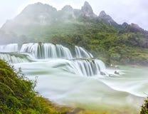 Ban Gioc Waterfall Stock Image