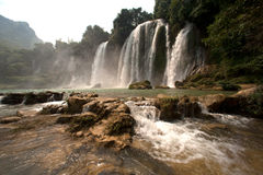 Free Ban Gioc Waterfall In Vietnam. Royalty Free Stock Photos - 48027998