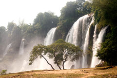 Free Ban Gioc Waterfall In Vietnam. Stock Image - 48028491