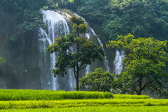 Ban Gioc Waterfall Stock Photography