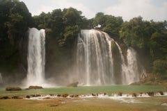 Ban Gioc waterfall in Vietnam. Royalty Free Stock Image