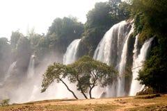 Ban Gioc waterfall in Vietnam. Stock Image
