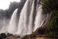 Ban Gioc waterfall in Vietnam. Stock Images