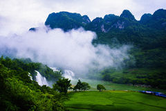 Ban Gioc Waterfalls Royalty Free Stock Image
