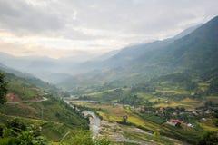 Ban Ho Village, Sapa District, Lao Cai Province, Northwest Vietnam Royalty Free Stock Image