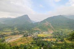 Ban Ho Village, Sapa District, Lao Cai Province, Northwest Vietnam Royalty Free Stock Photography