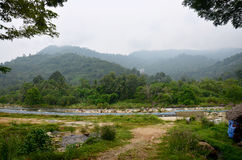 Ban Khiri Wong village in Nakhon Si Thammarat, Thailand Stock Image
