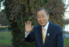 Ban Ki Moon Stock Photo
