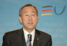 Ban Ki-Moon Стоковые Изображения