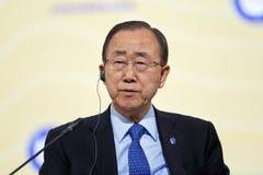 Ban Ki-moon Royaltyfria Foton