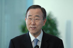 Ban Ki-Moon Stock Image