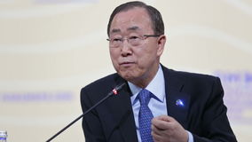 Ban Ki-moon stock video footage