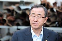 Ban Ki-moon - sekretarka - generał UN Fotografia Stock