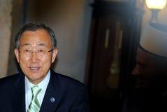 Ban Ki-moon visit Kosovo Royalty Free Stock Image