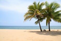 Ban Krut Beach. At bangsaphan idistrict in Prachuap Khiri Khan, Thailand Stock Photos