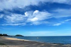 Ban Krut Beach. Is a beautiful beach at Gulf of Thailand stock photos