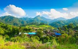 Ban Pang Paek. Pai district, Maehongson, Thailand Royalty Free Stock Photos