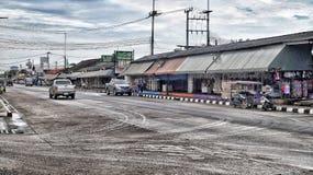 Ban phe market Stock Photo