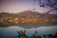 Ban Rak Thai. A Chinese settlement in Mae Hong Son province Northern Thailand Royalty Free Stock Image