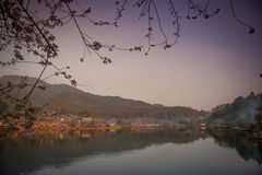 Ban Rak Thai. A Chinese settlement in Mae Hong Son province Northern Thailand Stock Photography