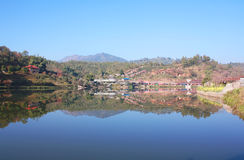 Ban Rak Thai, Mae Hong Son Province Thailand Royalty Free Stock Photography