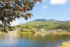 Ban Rak Thai (the Thai-loving village) Royalty Free Stock Photography