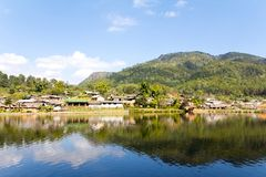 Ban Rak Thai (the Thai-loving village) Royalty Free Stock Images