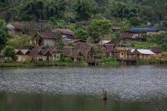 Ban Rak Thai Village, a Chinese settlement in Mae Hong Son,Thailand Royalty Free Stock Photos