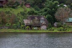 Ban Rak Thai Village, a Chinese settlement in Mae Hong Son,Thailand Stock Photos