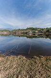 Ban Rak Thai Village. A Chinese settlement in Pai, Mae Hong Son province, Northern Thailand Royalty Free Stock Photos