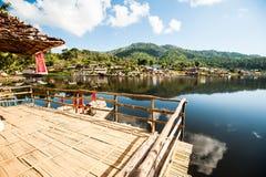 Ban rak thai village Royalty Free Stock Image