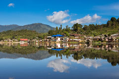 Ban rak thai village. Royalty Free Stock Photo