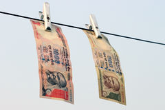 Ban on Rs 500, Rs 1000 notes is surgical strike on terror funding, black money. Royalty Free Stock Images