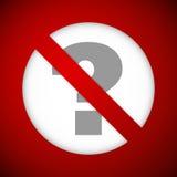 Ban sign Royalty Free Stock Image