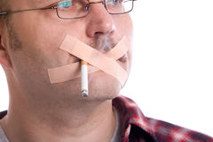 Ban smoking Royalty Free Stock Image