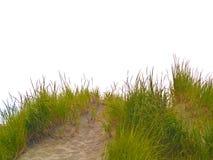 bana för 4 strand till Arkivfoto