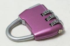 bana för lås för clippingkombination bland annat purpurt Royaltyfria Bilder