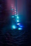 Bana för vattenfärg Arkivbilder