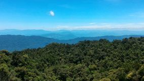Bana-Hügel in der Da Nang-Stadt Stockbilder