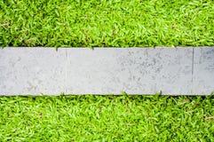 Bana i trädgård Royaltyfri Fotografi