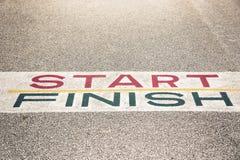 Bana till framgång och framtid, bana till framgång och den framtida vägen Arkivbild