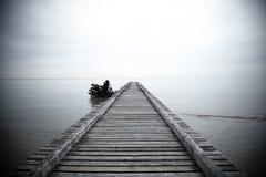 Bana till havet Royaltyfria Bilder