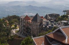Bana wzgórzy francuska wioska w Wietnam Obraz Stock