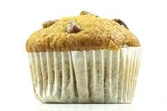 Banaan cupcake of banaanmuffin royalty-vrije stock foto's