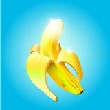 Banaan in de schil Royalty-vrije Stock Foto's