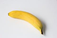 Banaan op wit Royalty-vrije Stock Afbeelding