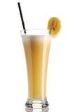 Banaan smoothie royalty-vrije stock foto's